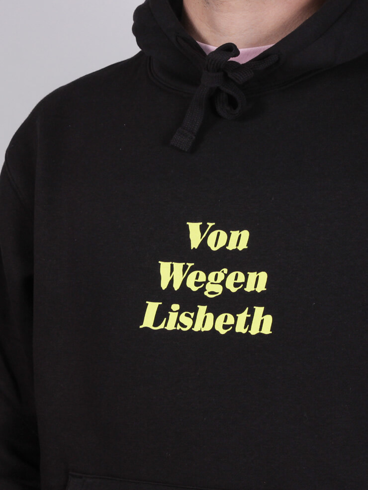 Von Wegen Lisbeth - Hoodie - Schriftzug - Von wegen ...