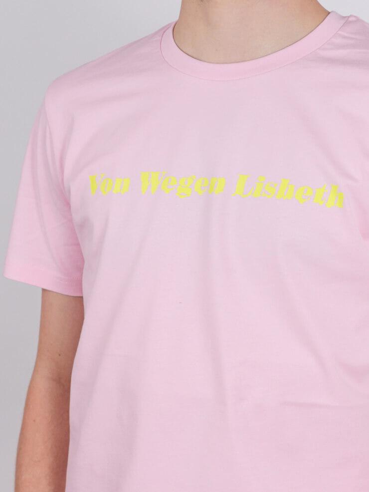 Von Wegen Lisbeth - T-Shirt - Schriftzug - Von wegen ...